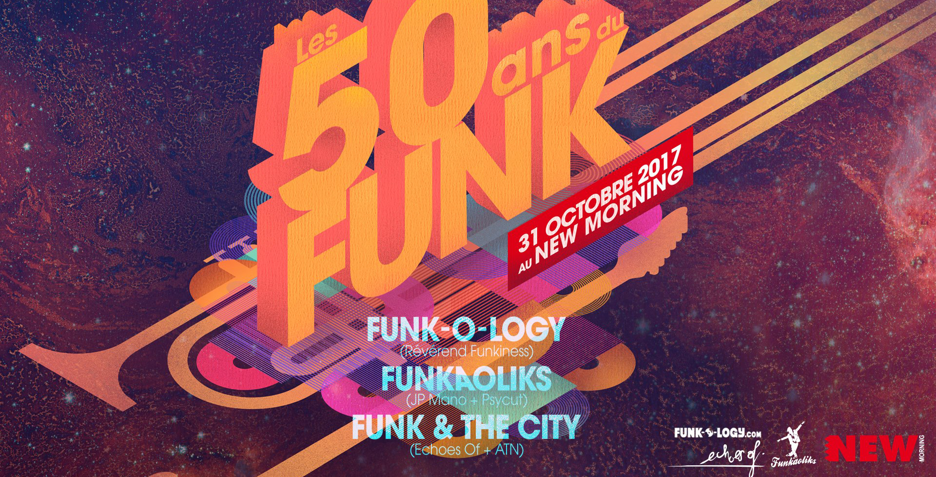 Echoes of 50 years of Funk !