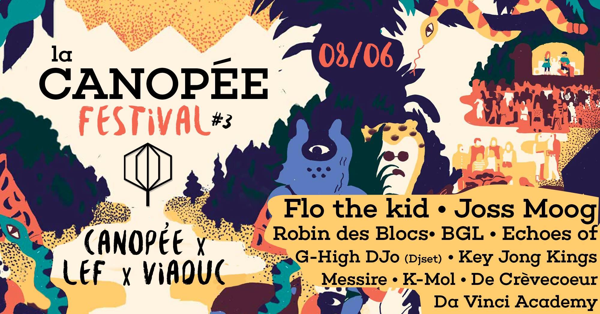 La Canopée Festival c'est ce Week End !